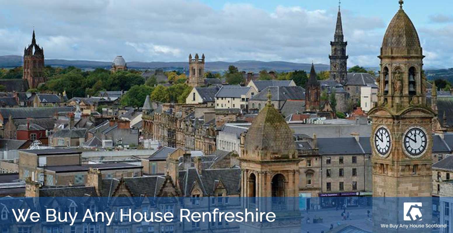 We Buy Any House Renfrewshire